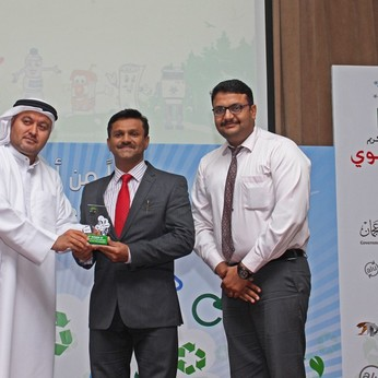 Honoured with prestigious Waste Management Award